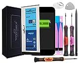 Trop Saint Batterie Interne pour iPhone 6-1810mAh, Kit de Réparation avec Outils et Adhesifs