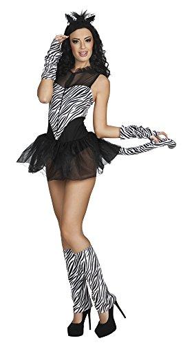 Boland 83635 Erwachsenenkostüm Hot Zebra, womens, 36/38