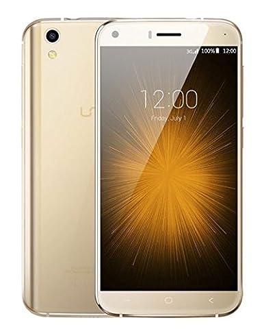 Nouvelle sortie UMIDIGI LONDON Robuste antichoc Android 6.0 Smartphone 3G - Protection en verre double drop-proof avec noyau Structure en métal 1.3GHz quad 8GB 8MP - or