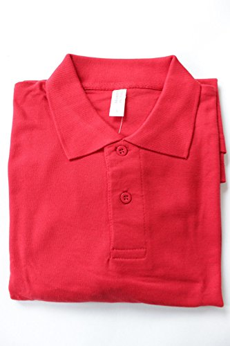 fashion-instyle-ltd1-camiseta-de-manga-larga-bsico-con-botones-para-hombre-negro-rosso-xxxl