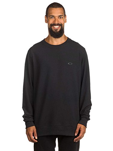 Herren Sweater Oakley Icon Crew Fleece Sweater (Crew Sweatshirt Icon)