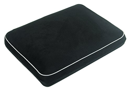 mp-essentials-soft-velour-memory-foam-contour-car-plane-home-travel-pillow-cushion-black