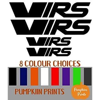Pumpkiin Prints Aufkleber für Fenster, Stoßstange, Octavia Fabia Spoiler
