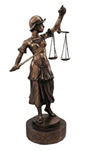 Lady Justice with Sword Figurine
