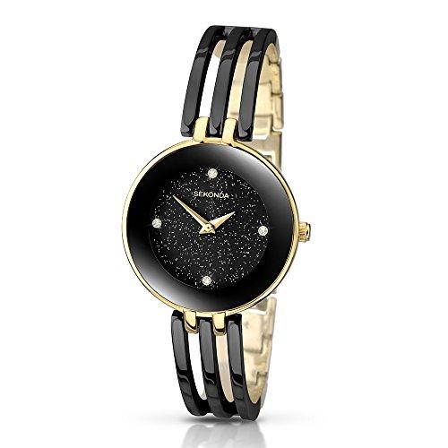 Sekonda Damen-Armbanduhr Analog Quarz 2109.27
