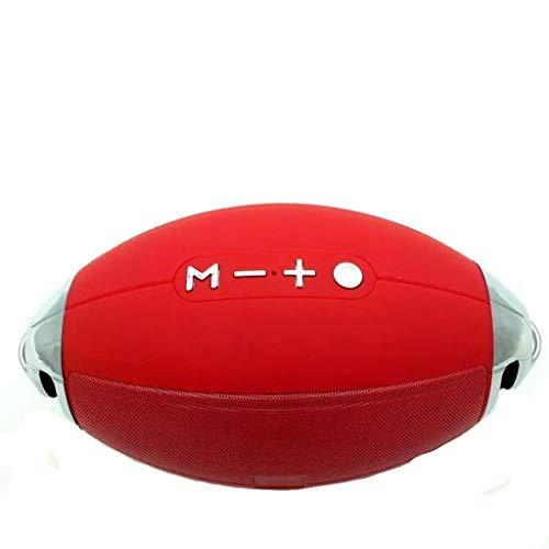 Enceinte d'extérieur sans Fil Enceinte Bluetooth Etanche Haut-Parleur Bluetooth sans Fil Creative Mic Encastrable Mains-Libres 8 Heures Autonomie Micro et Basses Renforcées Subwoofer