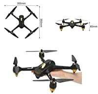 Quadcopter Drone Hubsan H501S X4 5.8G FPV RCWith 1080P HD Camera Bundle with Aluminium Suitcase and Enhanced Distance Antenna