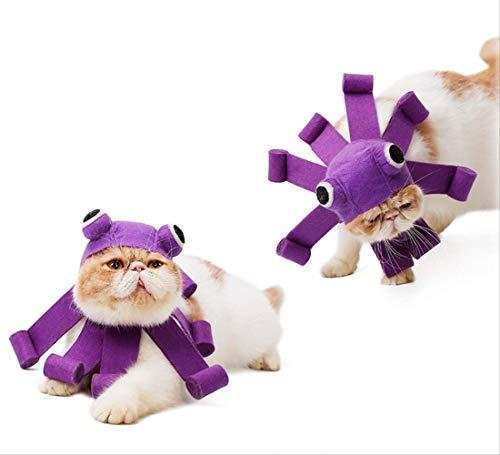 JBPX Halloween Cat Dress Up Hut Pet Dress Up Kopfschmuck Festliche Party Caps Katzen Hunde Rollenspiele Anzug Pet