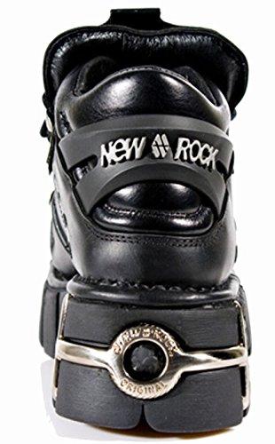 New Rock 106-s1 Damen Stiefeletten Black