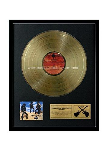 RGM1033 Motorhead Ace of Spades Gold überzogene 12 '' LP von Rock Guitar Miniatures (Miniatures Motorhead)