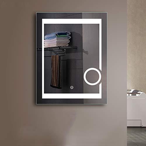JKAD 600 x 800 mm beleuchteter Tastschalter mit Tastenvergrößerungsspiegel und Demister-Gerät -
