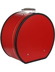 Lierys Hutschachtel Rot Hutkoffer Hutbox Transportbox