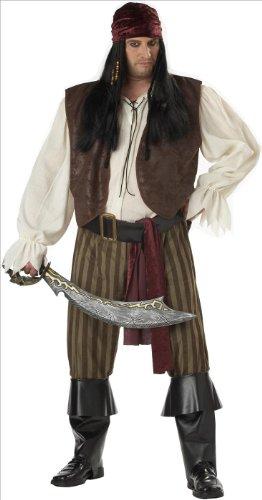 Imagen de california costumes 01641  disfraz de pirata rogue para los hombres más tamaño