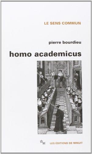 Homo academicus (Le sens commun) par Pierre Bourdieu