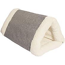 40 Winks peluche cama cubierta de lujo, 76,2 cm, marrón claro