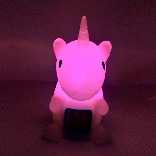 Mystery&Melody Color Unicornio Que Cambia luz Noche