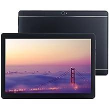 """FONXA Tablet 10.1"""" (HDD 32GB, RAM 2GB, Android 5.1, Quad Core, 1280x800, Dual SIM) Nuevo Metal Design 3G Phone Tablet PC (Negro)"""