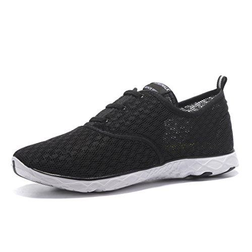 kenswalk-mens-quick-dry-trainers-beach-aqua-water-shoes-uk-9-eu-44-men-black-white
