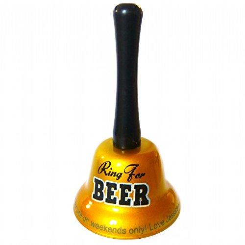 Ring For Beer Bell Funny Mens Drink Secret Santa Gifts