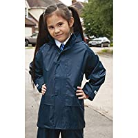 Result Core Childrens/Kids Unisex Junior Rain Suit Jacket and Trousers Set