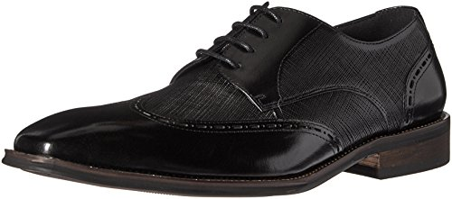Kenneth Cole REACTION Men's Spoke 2 Soon Oxford, Black, 8 M - Schwarz Reaction-schuhe Kenneth Cole