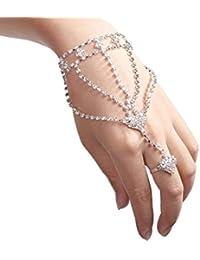 fd20f34b4d3a Amazon.es  pulseras de dedo mujer - Pulseras   Mujer  Joyería