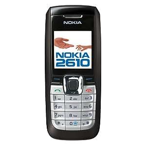 Nokia 2610 Téléphone portable WAP / MMS mp3 Noir
