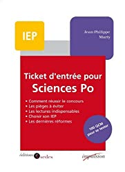 Ticket d'entrée pour Sciences Po : 100 QCM pour se tester (Impulsion)