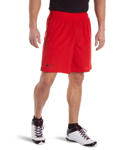 Under Armour UA Mirage Short 8 Shorts, Hombre, Rojo (Red), LG