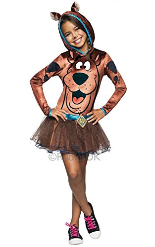 Scooby Doo Hoody Kinder Fancy Kleid Mädchen Cartoon Charakter Kinder Kostüm (Fancy Film Charakter Dress)