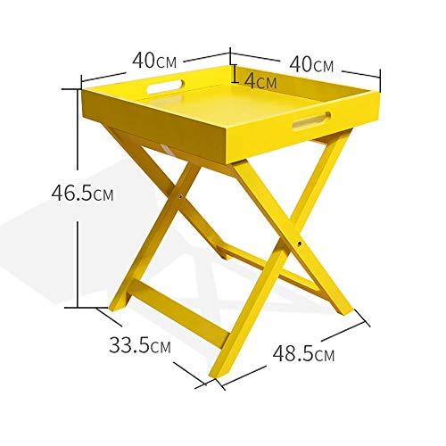 Zhuozi FUFU Wandhalterung Klapptisch Multifunktions-TV-Tablett zum Essen, Trinken und Laptops Drop-Blatt-Tabelle