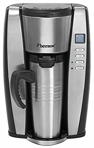 Cafetiere Isotherme Inox - Bestron ACUP650 Cafetière Programmable Thermos Inox 650