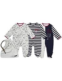The Essential One - Baby Jungen Schlafanzuge/Schlafanzug/Einteiler/ Strampler - Marineblau - ESS200