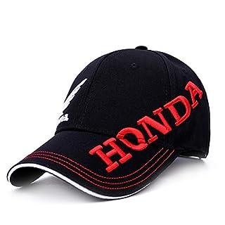 TTXSKX Chapeau De Soleil Hommes Femmes Moto GP Lettres Honda Chapeaux D'Équitation 3D Aile Brodée F1 Racing Cap Moto Casquette De Baseball Snapback