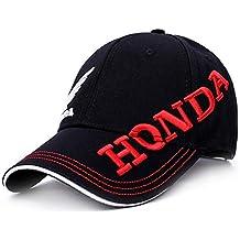 7afa869ffa70e TTXSKX Sombrero De Sol Hombres Mujeres Moto GP Cartas Honda Motocross Equitación  Sombreros 3D ala Bordada