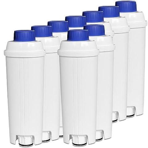 9x DeLonghi SER 3017 Wasserfilter für Kaffeevollautomaten der