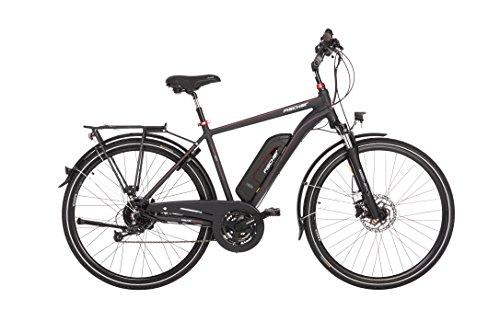 FISCHER E-Bike TREKKING Herren ETH 1822, Anthrazit, 28″, RH 50 cm, Hinterradmotor 48 V/ 422 Wh, Shimano Deore 1 x9 Gang-Schaltung, LCD-Display inkl. Navi-App
