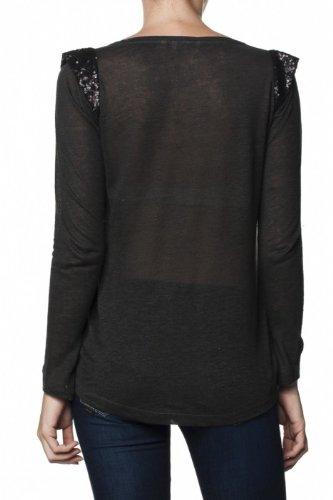 Salsa -  T-shirt - Donna Grigio