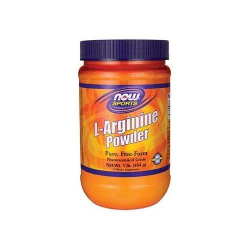 41fauobxJ%2BL. SS500  - Now Foods L-Arginine Powder, 454g