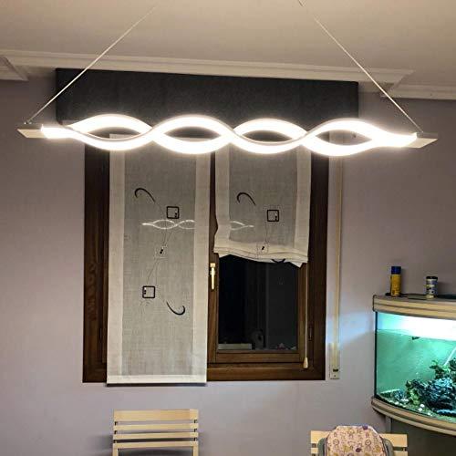 Lámpara techo,Lámpara colgante LED 60W LED Moderna