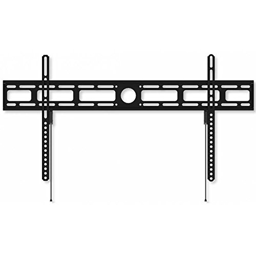Techly ICA-PLB-840 Wandhalterung LCD TV LED 106.68 cm (42 Zoll)-203.2 cm (80 Zoll) Slim Fixed H400mm Schwarz