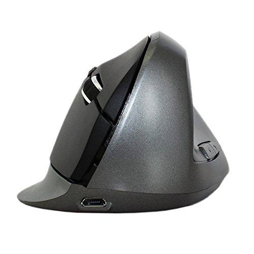 MDSNFH 2.4 G Drahtlose Übertragung Ergonomische Aufrechte Lade Taste 5 Drahtlose Computer-Maus Photoelektrische Maus -