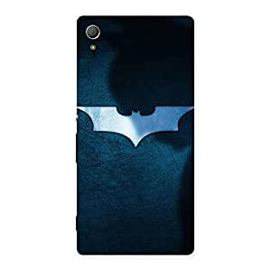 Voila Blue in Bat Back Case Cover for Xperia Z4