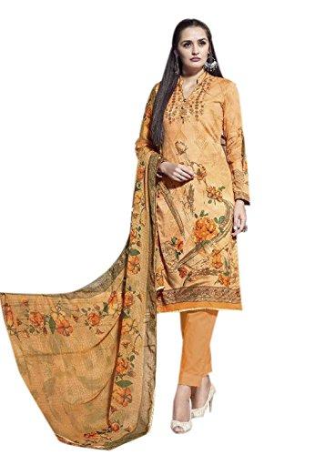 Rose Petals Fine Quality Cotton Un stitched Self Digital Printed salwar suit...
