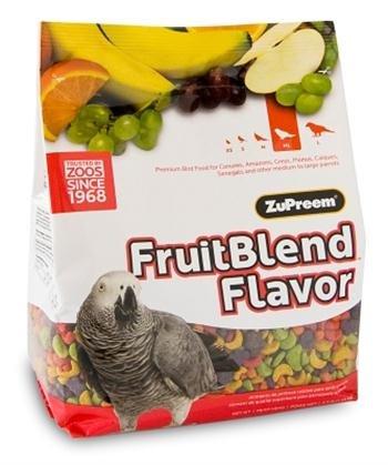 ZuPreem Mélange de fruits pour perroquets 1,6 kg