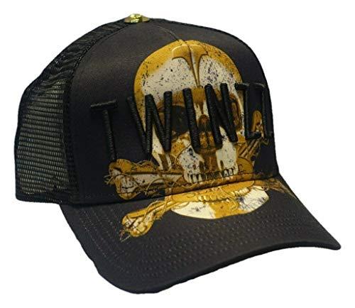 Twinzz - De malla 3D, diseño logo amarillo
