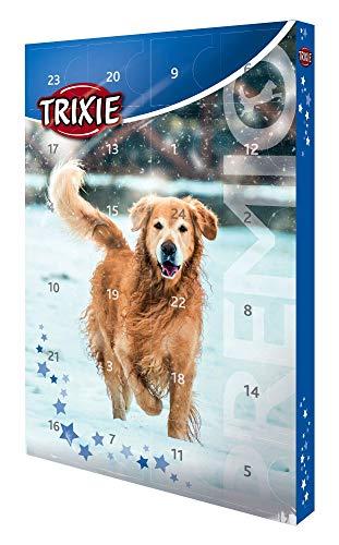 Trixie 9267 TRIXIE PREMIO Adventskalender für Hunde, 24,5 × 37 × 3,5 cm -