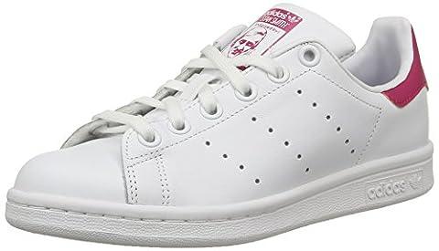 adidas Originals Stan Smith, Mädchen Sneakers, Weiß (Ftwr White/Ftwr White/Bold