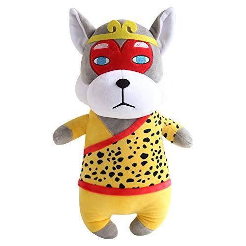 PANGDUDU Cartoon Toys Puppy/Cuccioli Bambole Cute Peluche Divertenti Zodiac Dog Mascot Ragdoll Giocattoli per Bambini Regali di Compleanno Ragazze, 12 *, 25Cm (Confezione Regalo + Borsa)