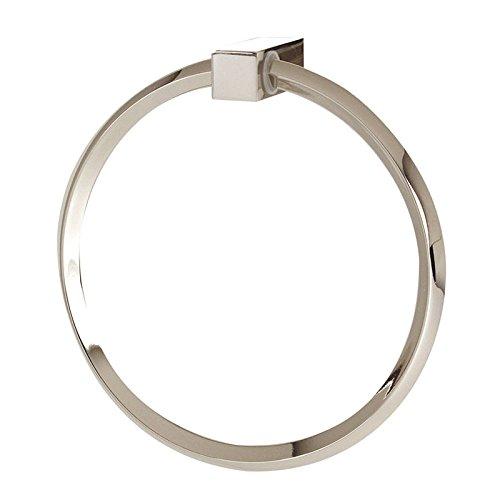 Alno a7140-pn Spa 2modernen Handtuch Ringe, poliert Nickel, 15,2cm -